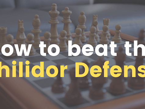 How to beat the Philidor Defense (ChessLoversOnly)